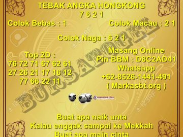 Syair Togel Hongkong 30 September