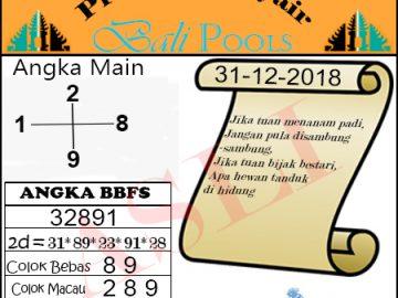 Syair Togel Bali 31 Desember