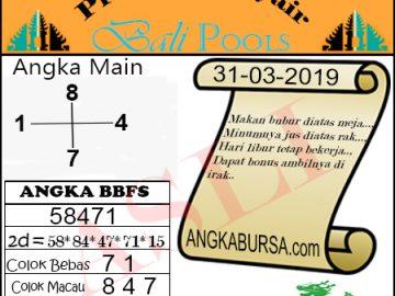 Syair Togel Bali 31 Maret