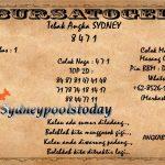 Syair Togel Sydney 31 Maret