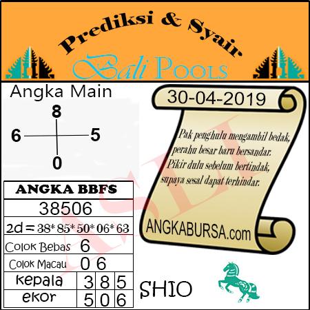 Syair Togel Bali 30 April