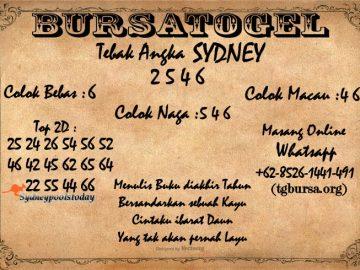 Syair Togel Sydney 30 Juni