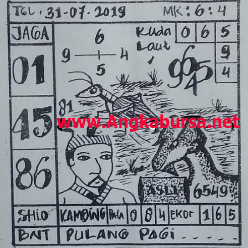 Syair Togel Singapore 31 Juli