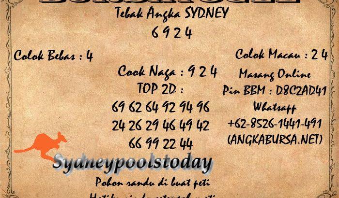 Syair Togel Sydney 14 Agustus