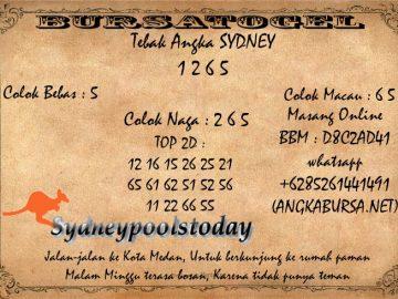 Syair Togel Sydney 31 Agustus